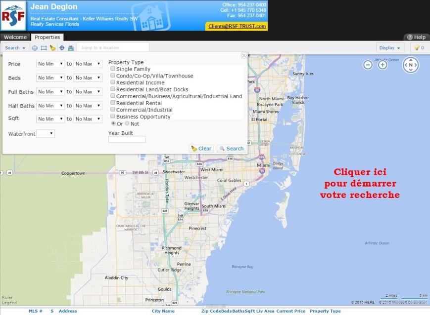 Immobilier Floride Recherche De Propriétés En Floride