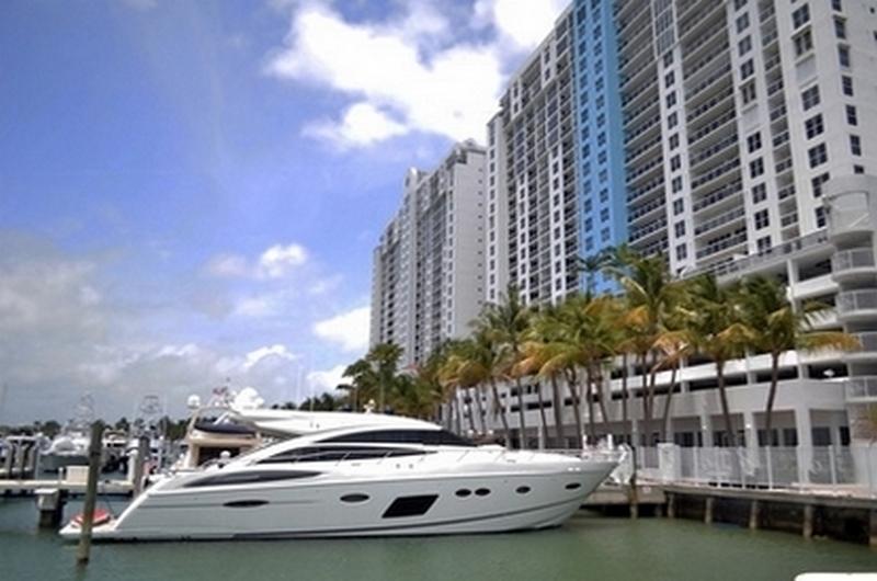 Immobilier Floride Condominium Bateau Dock à Fort Lauderdale ou Miami