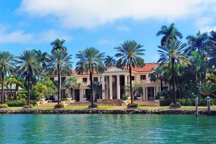 Immobilier en Floride, Investissement, maisons en bord de mere ou sur l'intracoastal